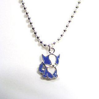 Blue Doglefox Necklace