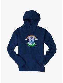 Neopets Happy Unicorn Hoodie - Navy