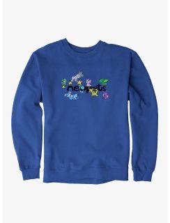 Neopets Pets Playing Sweatshirt - Royal Blue