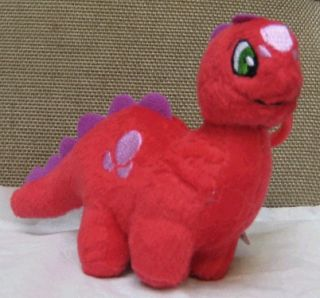 Red Chomby Plushie Clip