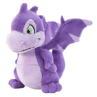 Purple Scorchio Plushie