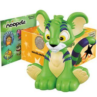 BK Green Kougra Figure