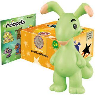 BK Green Blumaroo Figure
