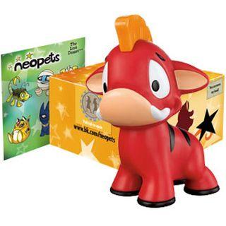 BK Red Moehog Figure