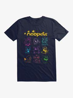 Line Art T-Shirt - Navy