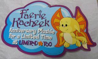 Faerie Kacheek Plushie Display Sign