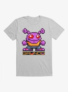 8-Bit Grundo T-Shirt - Heather Grey