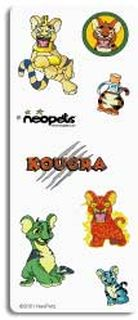 Kougra Stickers