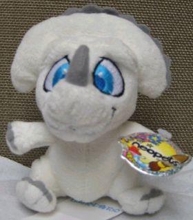 White Icklesaur Plushie