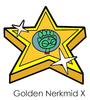 Golden Nerkmid X Pin