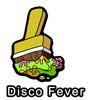 Disco Fever Paint Brush Pin