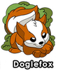 Doglefox Pin