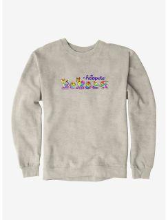 Neopets Rainbow Sweatshirt - Oatmeal Heather