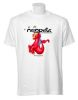 Red Peophin Short Sleeved T-Shirt