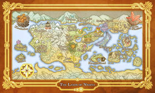 Cloth Map of Neopia