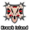 Altador Cup Krawk Island Team Logo Pin
