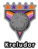Altador Cup Kreludor Team Logo Pin