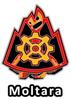 Altador Cup Moltara Team Logo Pin