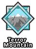Altador Cup Terror Mountain Team Logo Pin