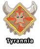 Altador Cup Tyrannia Team Logo Pin