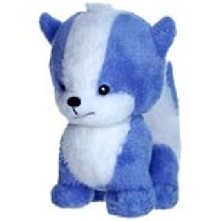 Mini Blue Doglefox Plushie