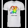 Rainbow Shoyru Personalized Adult Short Sleeve T-Shirt