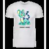 Blue Kougra Personalized Adult Short Sleeve T-Shirt