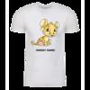 Baby Kougra Personalized Adult Short Sleeve T-Shirt