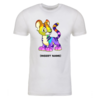 Rainbow Kougra Personalized Adult Short Sleeve T-Shirt
