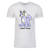 Blue Lupe Personalized Adult Short Sleeve T-Shirt