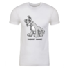 Grey Lupe Personalized Adult Short Sleeve T-Shirt