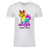 Rainbow Lupe Personalized Adult Short Sleeve T-Shirt