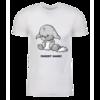 Grey Kacheek Personalized Adult Short Sleeve T-Shirt