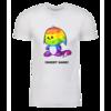 Rainbow Kacheek Personalized Adult Short Sleeve T-Shirt