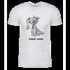 Grey Aisha Personalized Adult Short Sleeve T-Shirt