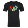 Trio Adult Short Sleeve T-Shirt in Black