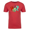 Trio Adult Short Sleeve T-Shirt in Red