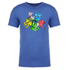 Group Adult Short Sleeve T-Shirt in Royal Blue