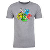 Group Adult Short Sleeve T-Shirt in Grey