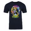 Return of Dr. Sloth Adult Short Sleeve T-Shirt in Black