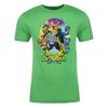 Return of Dr. Sloth Adult Short Sleeve T-Shirt in Green