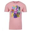 Faeries of Neopia Adult Short Sleeve T-Shirt in Pink