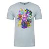Faeries of Neopia Adult Short Sleeve T-Shirt in Light Blue