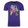 Faeries of Neopia Adult Short Sleeve T-Shirt in Purple