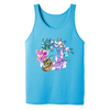 Faerie Circle Adult Tank Top in Turquoise