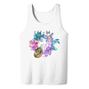 Faerie Circle Adult Tank Top in White