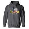 Neopets Bunch Fleece Hooded Sweatshirt in Charcoal