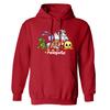 Neopets Bunch Fleece Hooded Sweatshirt in Red