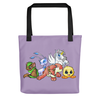 Neopets Bunch Premium Tote Bag in Purple