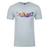 Neopets Pride Pets Adult Short Sleeve T-Shirt in Light Blue